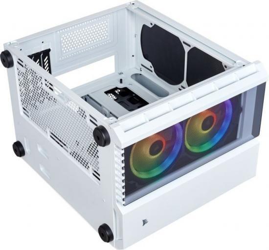 Obudowa Crystal Series 280X RGB TG Micro ATX biała