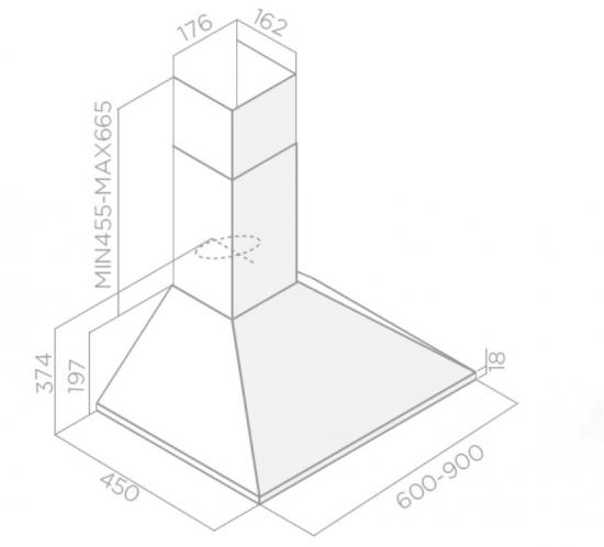 Okap CERTOSA IX/A/60