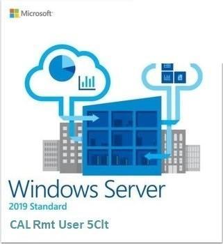 Oprogramowanie ROK Win Srv 2019 CAL Rmt Dsktp User 5Clt