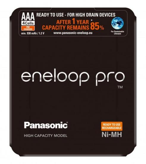 Akumulator PRO AAA 930mAh 4szt. sliding pack