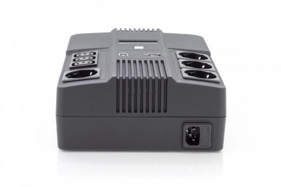 Zasilacz awaryjny UPS Line-Interactive 600VA/360W AVR
