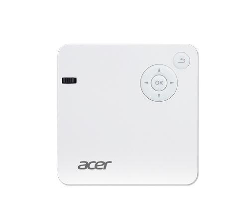 Acer Projektor C202i WiFi/LED FWVGA/300AL/5000:1/0,4kg PowerBank,Stojak