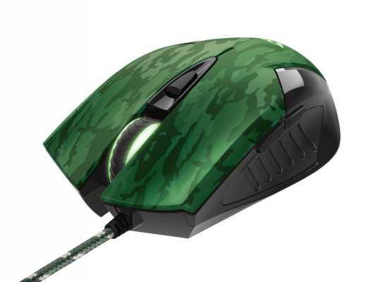 Mysz gamingowa z podkładką GXT 781 kamuflaż