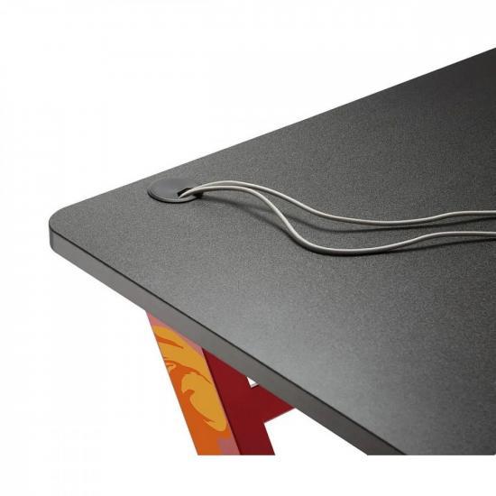 Biurko Gamingowe Czarne 50kg Max NANORS RS120