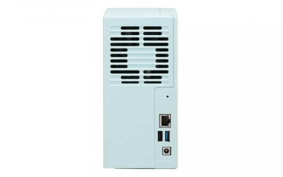 Serwer NAS TS-230 RTD1296 2xSATA 6GB/s 3.5/2.5inch. 2GB DDR4 RAM on-board 1xGB2xUSB3.0 1xUSB2.0