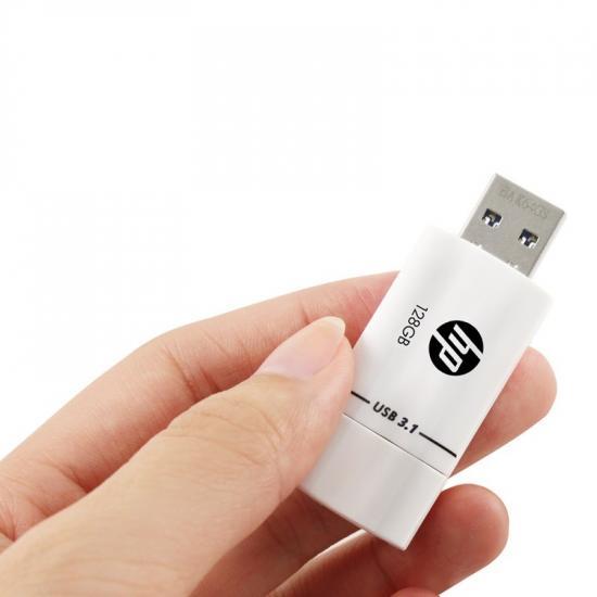 Pendrive 128GB HP USB 3.1 HPFD765W-128