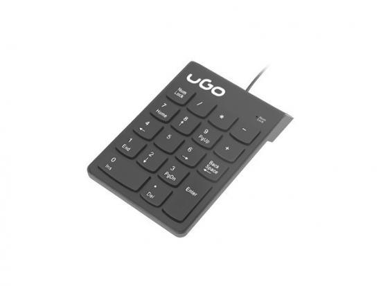 Klawiatura Askja K140 numeryczna USB przewodowa Czarna