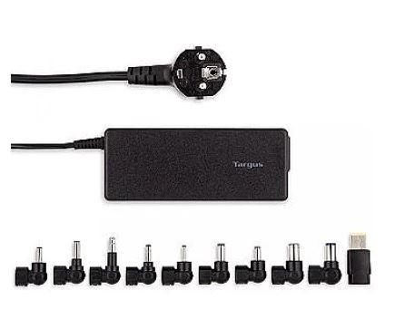Targus 90w Universal Laptop Charger EU Black