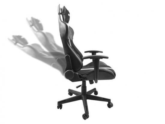 Fotel dla graczy Fury Avenger XL Czarno-biały