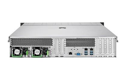 Serwer Rack RX2520M5 1x4210R 64GB (2x32GB) NOHDD EP420i 2x1Gb + 1Gb IRMC 2x450W 3YOS VFY:R2525SC210IN