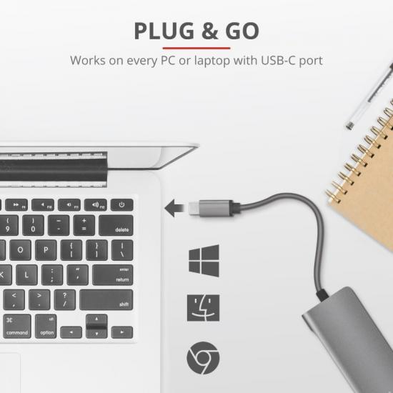 Adapter USB-C - Ethernet Dalyx