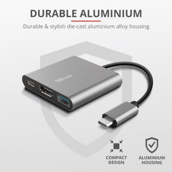 DALYX adapter USB C 3w1
