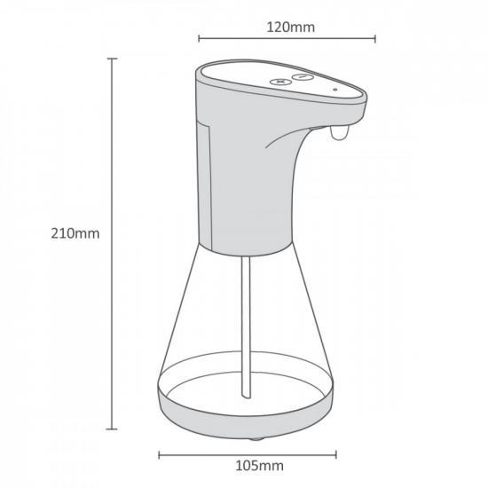 Dozownik dypenser do płynow PR-530 480ml