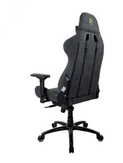 Fotel dla graczy Verona Signature Soft Fabric Gold Logo