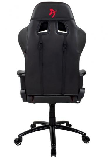 Fotel dla graczy Inizio Czarny PU