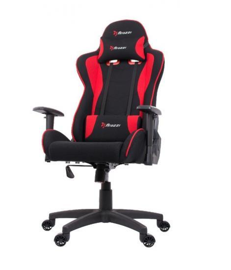 Fotel dla graczy Mezzo V2 Fabric Czerwony