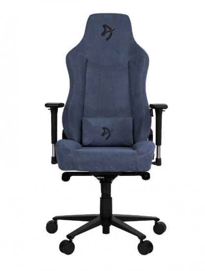 Fotel dla graczy Vernazza Delikatna Tkanina Niebieski