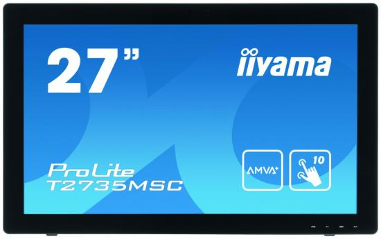 Monitor 27cali T2735MSC-B3 IPS USB,HDMI,Webcam