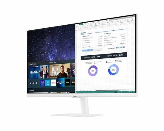 Monitor 27 cali LS27AM501NUXEN VA 1920x1080 FHD 16:9 8 ms (GTG) Smart płaski