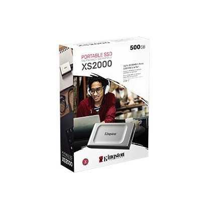 Dysk SSD XS2000 500GB USB3.2 Gen2.2 Zewnętrzny